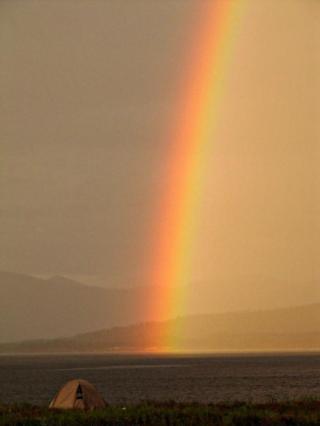 Artisan - rainbow tent