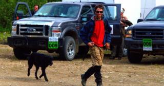Artisan - man and his dog